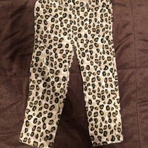 Girls 24 months leopard print leggings